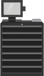 SupplyScale 7 Drawer Main Unit